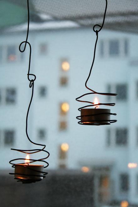 venkovní osvětlení svépomocí