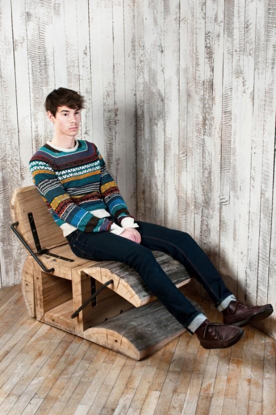 nekonformní židle