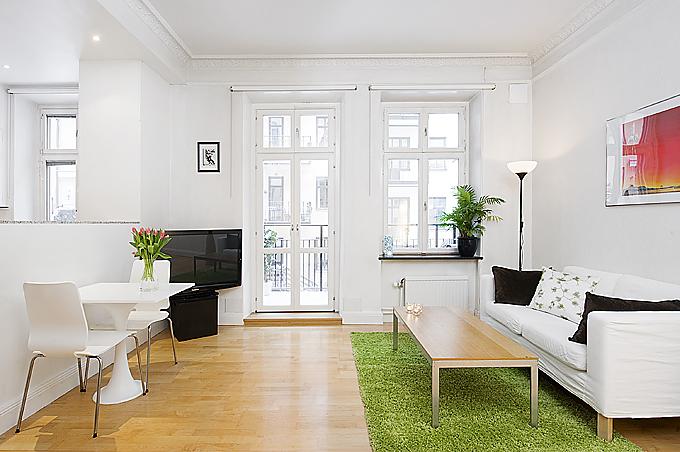 malý byt ve Švédsku