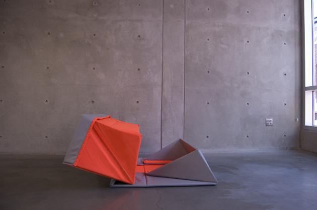 origami pohovka