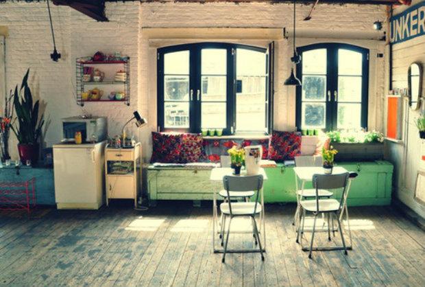 vintage podlahy