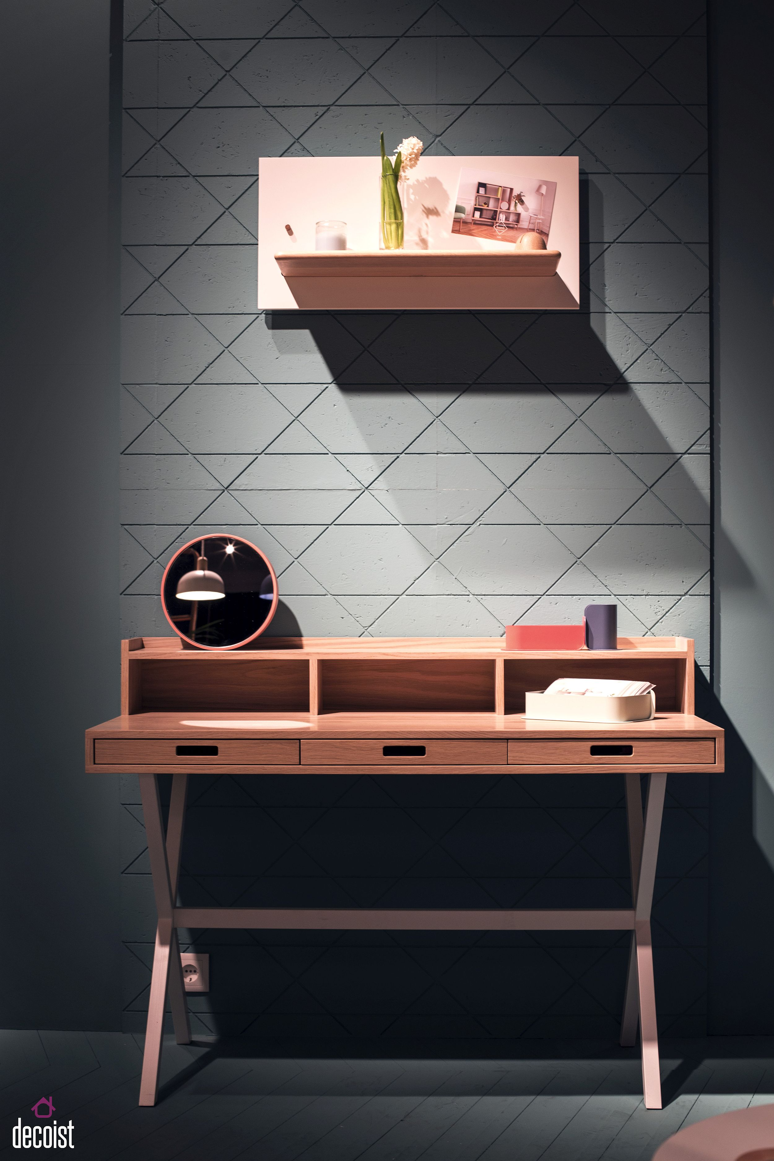 Slim-desk-with-smart-drawers-for-the-home-office-from-Harto