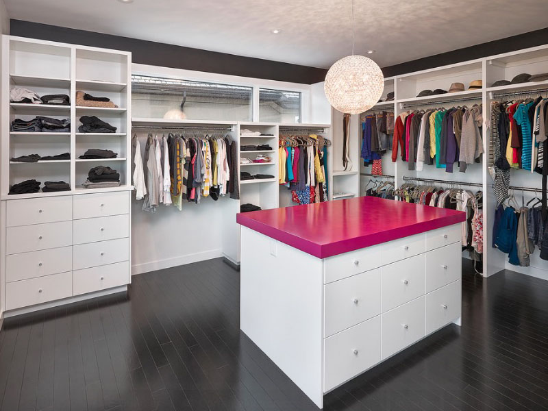 island-in-closet