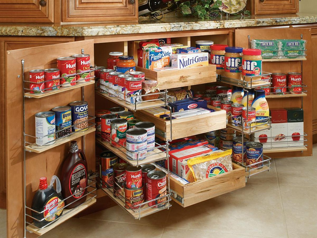 Custom-shelves-and-sliding-cabinets-help-create-a-fabulous-and-space-savvy-pantry