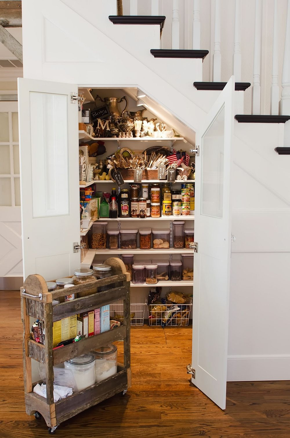 Under-staircase-pantry-idea